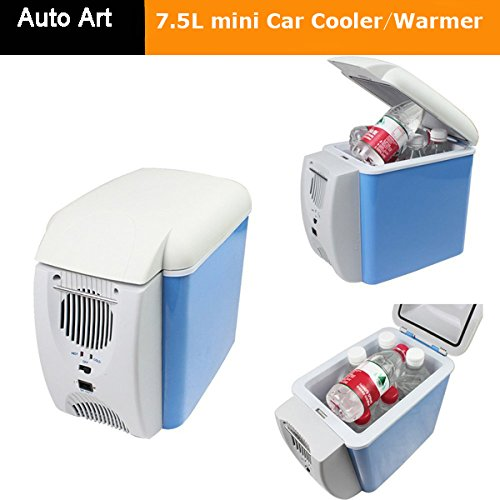 Portable Electronic 7.5L Refrigerator Car Cooler and Warmer with 3 in 1 Function Cooling, Heating (7.5 L Auto Mini Car Travel Fridge)