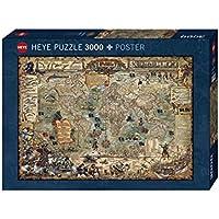 Heye Puzzle Mondo dei Pirati, 3000 Pezzi, VD-29526