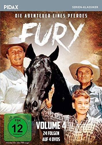 Fury - Die Abenteuer eines Pferdes, Vol. 4 / Weitere 24 Folgen der Kultserie (Pidax Serien-Klassiker) [4 DVDs]