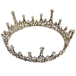 auvwxyz Diademe, Vintage Bridal Crown Hochzeit Show Geburtstagszubehör