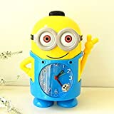 #7: BonZeal 3D Cute Cartoon Kids Girls Boys Minions Table Desk Alarm Clock / Sleep Timer with Night Light Clock