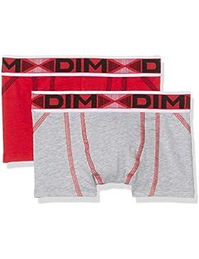Dim 6J67630-X1, Boxér para Niños, Pack de 2