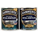 Hammerite Metallschutzlack 1l/4 x 250ml/Viele Farbtöne zur Auswahl (kupfer - hammerschlag)