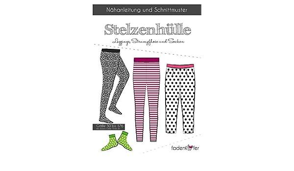 Schnittmuster Fadenkäfer Stelzenhülle Gr.50-176 Kinder Leggings ...