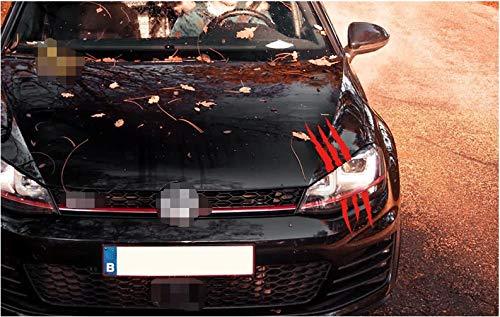 YUHUS Home Horror-Thema-Auto-Aufkleber-Reihe - roter klarer Zombie-Kratzer 35 * 8.5cm Nicht einfach, grausamen Auto-Aufkleber der mittleren Größe * 1 Stück Fallen zu Lassen