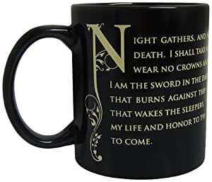 Game Of Thrones Tasse De La Garde De Nuit En Céramique