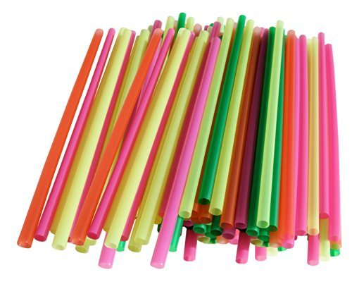 1-x-assorted-colors-smoothie-straws-pieces-by-chef-craft