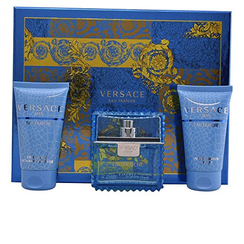 VERSACE MAN EAU FRAICHE EDT 50 ML + SHOWER GEL 50 ML + A/S BALM 50 ML SET