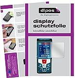 dipos I 3X Schutzfolie klar passend für Bosch Professional GLM 50 C Folie Displayschutzfolie