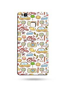 Huawei P9 Lite Printed Mobile Back Cover / alDivo Designed Printed Back Cover For Huawei P9 Lite