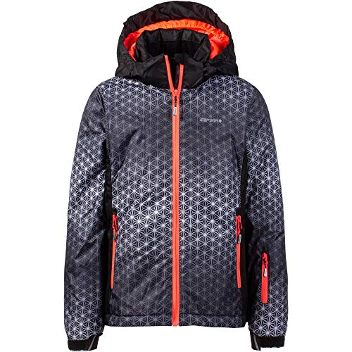Icepeak Kinder Hermia Junior Jacke, Lead-Grey, 164 cm
