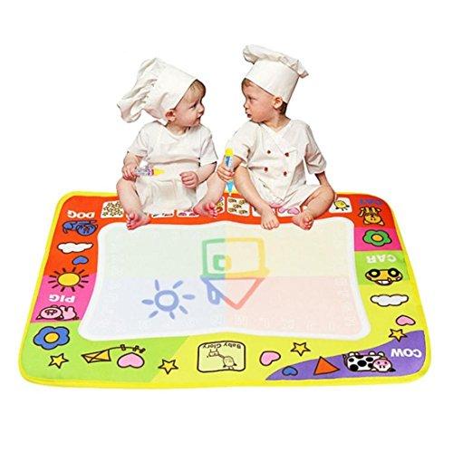 Tongshi Doodle del Aqua de los niños los juguetes del dibujo Mat pluma mágica de juguetes educativos 1 Mat 2