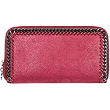 Stella McCartney Continental Falabella billetera mujer bordeaux