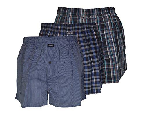 jockey-mens-boxer-corti-in-cotone-colore-nero-confezione-da-3-nero-small
