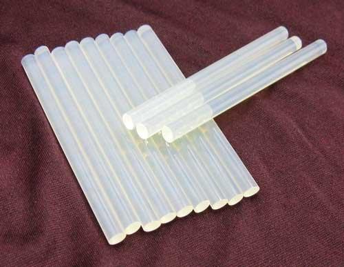Heiße Patrone (Heißklebepatronen 12 Stück, Heiß Klebe Bastel Pistolen Patronen Kleber,klar,weiß (LHS))