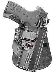 Fobus nouvelle tactique caché portez poche pistolet étui avec système de déclenchement de verrouillage Holster pour Beretta PX4 Storm full size, Tous les calibres, polymère noir
