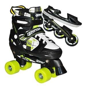 Rollers/patins à glace/patins à roulettes Tempish VERSO TRIPLE extensible enfant Taille S (pointure 26 à 29)