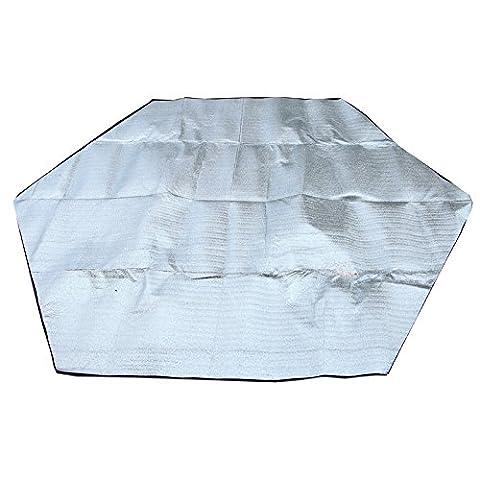 MissofSweet Camping EVA Mat With Sided Aluminum Foil Foam backed Sleeping Mat Mattress