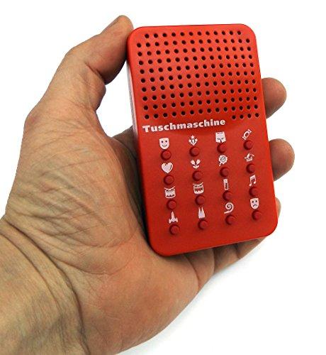 ☻ Buzzer Button Sound Buzzer Maschine Fasching Party Geräusch Generator Tuschmaschine ☻
