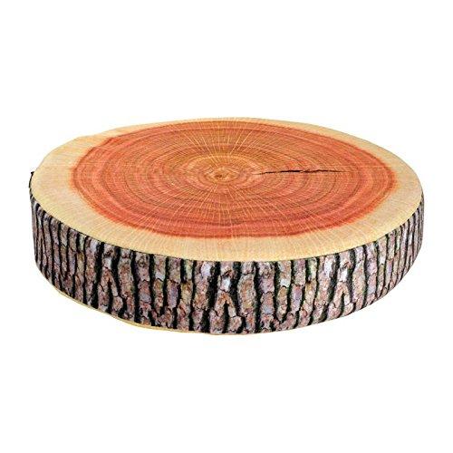 """Sitzkissen Baumstamm, ein echter Hingucker, angenehmer Sitzkomfort durch hochwertigen Schaumstoff, dekorative \""""optische Täuschung\"""""""