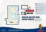 Sportbootkarten Satz 1: Kieler Bucht und Rund Fünen (Ausgabe 2018): Mit Lübecker Bucht, Nord-Ostsee-Kanal, Eider und Schlei