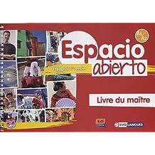 Espacio Abierto Niveau 1 Livre du maître + accès à ELEteca