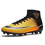 Scarpe da Calcio Uomo Tacchetti Professionale del Ragazzo Scarpe da Allenamento per Calzature da Calcio