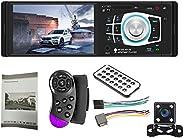 JKoYu Car Stereo and Car Accessories 4012B 4.1 Inch Bluetooth Touch Screen 1 Din Car Radio Stereo FM USB MP5 P