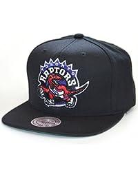 2a0b0a79a8f Mitchell   Ness Hats Toronto Raptors Snapback Cap - Wool Solid - Black