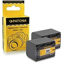 2x Bateria NP-FV70 para Sony Camcorder DCR-DVD110E, DVD115E, DVD150E, DVD310E...