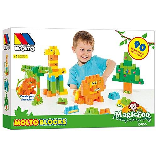 Molto - Caja activity blocks 90 piezas (15455)