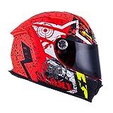 Suomy Motorradhelm SR Sport Shape, Mehrfarbig (Stars Orange), M