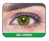 #2: Sea Green GLAMOUR EYE Color Contact Lenses (2 LENS/BOX) Power : 00 - Monthly by SoftTouchLenses