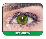 Sea Green GLAMOUR EYE Color Contact Lens...