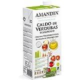 Caldo de verduras Ecológico (1 L) AMANDIN