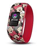 Garmin, orologio per bambini, jr;con due cinturini intercambiabili, Bambini, 010-12666-00, Disney Minnie Maus, XS