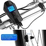 Wheel-hy-Luci-LED-per-Bicicletta-Ricaricabili-USB-con-Comando-Remoto-e-Clacson-Impermeabile-Computer-da-Bicicletta-con-LCD-Display-Multifunzione