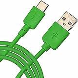Spyrox - ZTE nubia N1 1 Meter Typ-C USB Daten / Ladekabel - Green