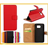 Gamsy® Luxury Genuine Leather Wallet Stand Folio Case with Card Slot for Apple iPhone 5/5S High Quality