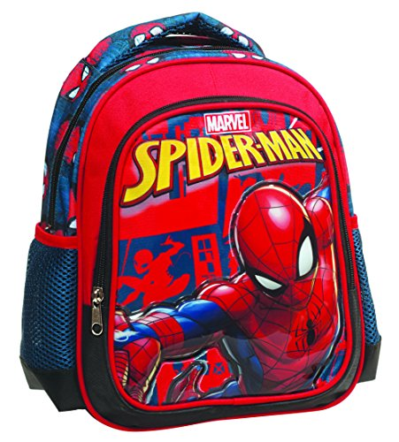 Giovas 337 70054 Spiderman Rucksack, Multicolor