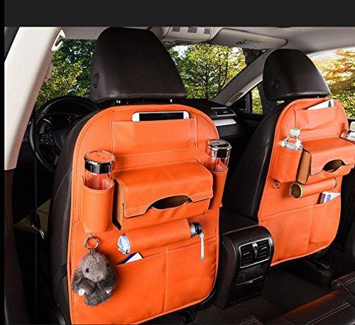U&I IU Auto Body Schmutz Teppich Aufbewahrungstasche Auto Sitz Aufbewahrungstasche Rucksack Autositz Tasche Composition: round cup holder box, horizontal sh C