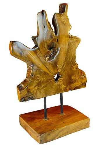 Kinaree Teak Wurzelholz Baumscheibe Skulptur (Wurzel-Scheibe)