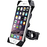 Care 4 Black Universal Bike Motorcycle Cycle Mount Holder For Phone Mobile Bicycle Handlebar Mobile Phone Holder Mobile Holder