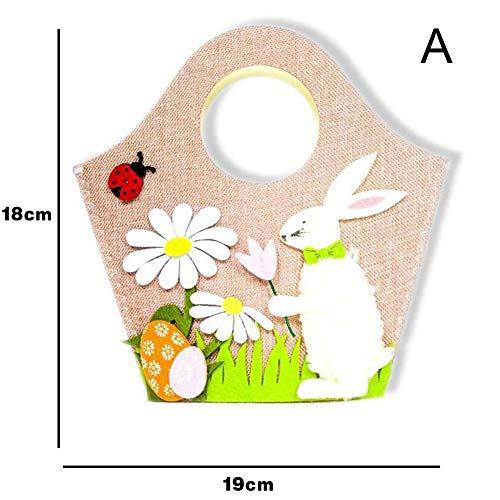 Gorgeousy Easter Rabbit Bunny Einkaufstasche Geschenk Tasche Handtasche Festliche Gunst
