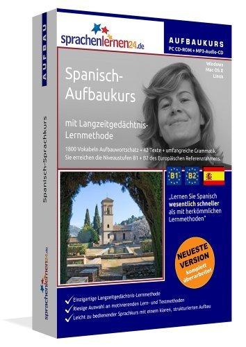 Sprachenlernen24.de Spanisch-Aufbau-Sprachkurs: PC CD-ROM für Windows/Linux/Mac OS X + MP3-Audio-CD...