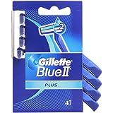 Gillette–Blue II Plus, maquinillas desechables, Paquete de 4