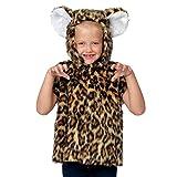 Unbekannt Charlie Crow Leopard Kostüm für Kinder. 3-9 Jahre.