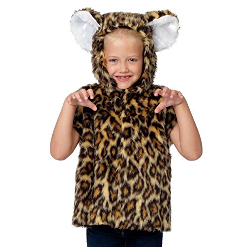 Kinder. 3-9 Jahre. (Leopard Party Supplies)