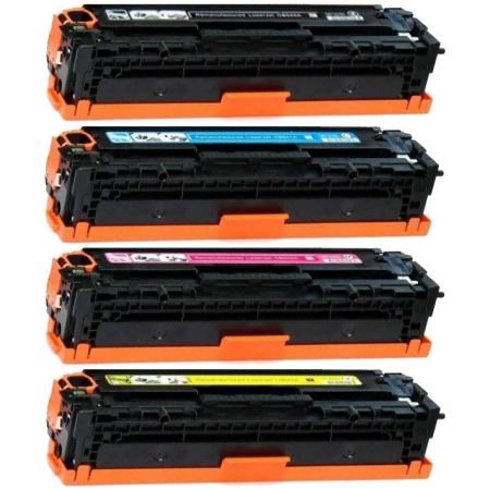 Preisvergleich Produktbild Ecoink 4 Pack Toner kompatibel für Canon MF631 / 633 / 635Cx / LBP-611Cn / 613Cdw-2.2K 1263C002