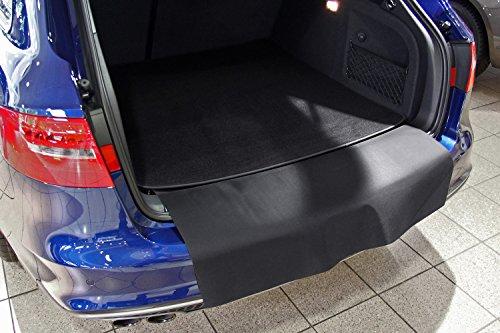 Tuning-Art 2924 Auto Kofferraummatte mit Ladekantenschutz 2-teilig